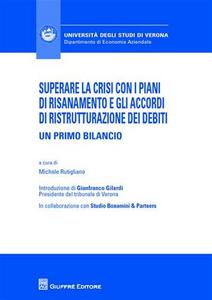 Libro Superare la crisi con i piani di risanamento e gli accordi di ristrutturazione dei debiti