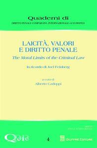Libro Laicità, valori e diritto penale. The moral limits of the criminal law
