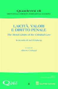Libro Laicità, valori e diritto penale. The moral limits of the criminal law