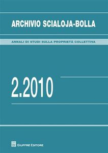 Libro Archivio Scialoja-Bolla