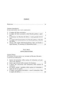 Libro Istituzionalismo e neoistituzionalismo. Questioni e figure M. Lucia Tarantino