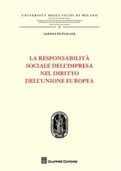 La responsabilità sociale dell'impresa nel diritto dell'Unione Europea