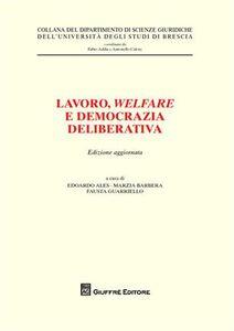 Libro Lavoro, welfare e democrazia deliberativa