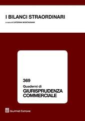 I bilanci straordinari. Atti della Giornata di studi (Cassino, 9 novembre 2012)