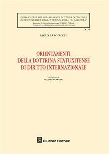 Orientamenti della dottrina statunitense di diritto internazionale.pdf
