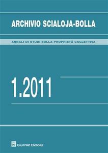 Libro Archivio Scialoja-Bolla (2011). Vol. 1