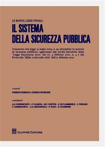 Libro Il sistema della sicurezza pubblica