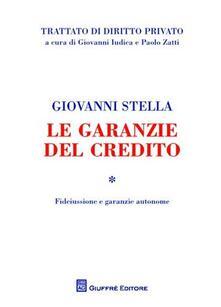 Antondemarirreguera.es Le garanzie del credito. Vol. 1: Fideiussione e garanzie autonome. Image