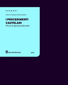 Libro I procedimenti cautelari Silvia Capitano , Roberto Giovagnoli