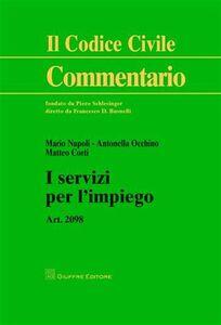 Foto Cover di I servizi per l'impiego, Libro di AA.VV edito da Giuffrè