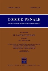 Codice penale. Rassegna di giurisprudenza e di dottrina. Vol. 13/3: Artt. 650-734 bis.