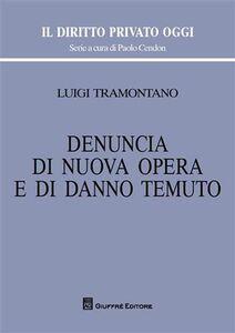 Libro Denuncia di nuova opera e di danno temuto Luigi Tramontano