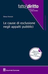 Le cause di esclusione negli appalti pubblici