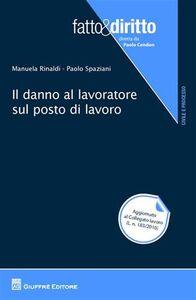 Libro Il danno al lavoratore sul posto di lavoro Manuela Rinaldi , Paolo Spaziani