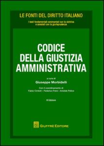 Foto Cover di Codice della giustizia amministrativa, Libro di  edito da Giuffrè