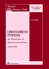 I provvedimenti d'urgenza. Art. 700 Cod. proc. civ. (Magis imperii quam iurisdictionis)