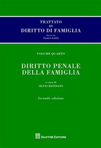 Libro Trattato di diritto di famiglia. Vol. 4: Diritto penale della famiglia.