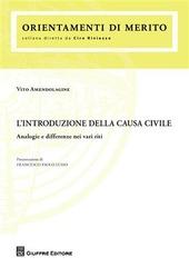 L' introduzione della causa civile. Analogie e differenze nei vari riti