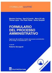 Libro Formulario del processo amministrativo