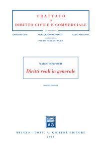 Libro Diritti reali in generale Marco Comporti