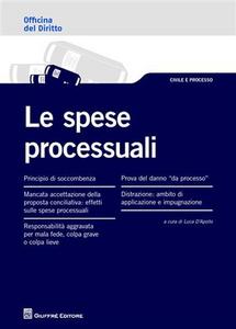 Libro Le spese processuali