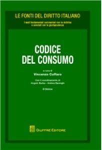Foto Cover di Codice del consumo, Libro di  edito da Giuffrè