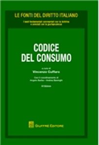 Libro Codice del consumo