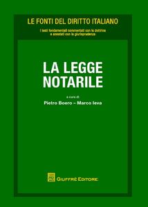 Libro La legge notarile