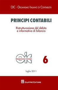 Libro Principi contabili. Ristrutturazione del debito e informativa di bilancio