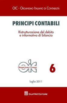 Lpgcsostenible.es Principi contabili. Ristrutturazione del debito e informativa di bilancio Image