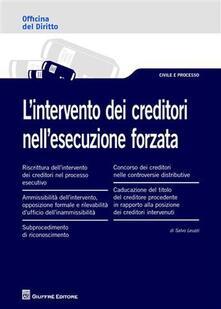 Grandtoureventi.it L' intervento dei creditori nell'esecuzione forzata Image