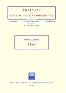 Foto Cover di I beni, Libro di Antonio Gambaro, edito da Giuffrè