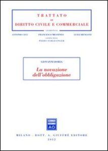 Libro La novazione dell'obbligazione Giovanni Doria
