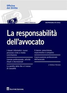 Libro La responsabilità dell'avvocato Raffaele Plenteda