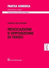 Revocazione e opposizione di terzo