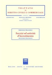 Servizi ed attività d'investimento. Prestatori e prestazione