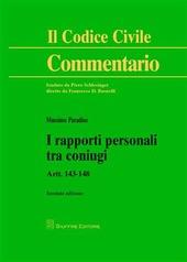 I rapporti personali tra coniugi. Artt. 143-148