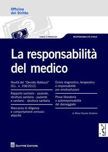 Libro La responsabilità del medico M. Claudia Giordano