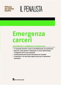 Libro Emergenza carceri Fabio Fiorentin
