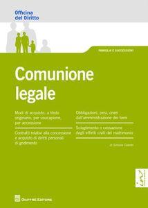 Libro Comunione legale Simona Caterbi