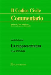La rappresentanza. Artt. 1387-1400