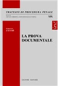 Libro La prova documentale Francesco Zacchè