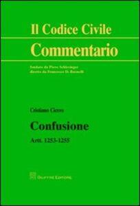 Libro Confusione. Artt. 1253-1255 Cristiano Cicero