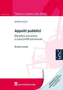 Libro Appalti pubblici Gerardo Guzzo