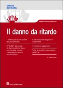 Libro Il danno da ritardo Antonio Pavan