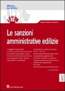Libro Le sanzioni amministrative edilizie Carmela Puzzo