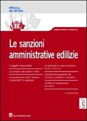 Le sanzioni amministrative edilizie