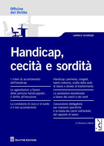 Libro Handicap, cecità e sordità Domenico Mesiti