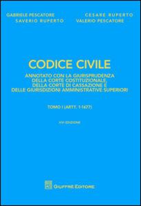 Libro Codice civile annotato con la giurisprudenza della Corte costituzionale, della Corte di Cassazione e delle giurisdizioni amministrative superiori