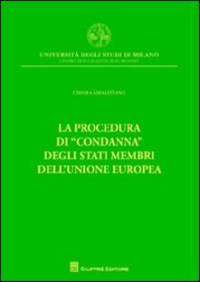 Partyperilperu.it La procedura di «condanna» degli Stati membri dell'Unione europea Image